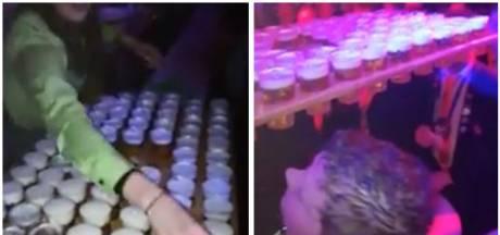 Bierkoning Thijs haalt giga-rondje met 78 glazen: 'Het geet wel heel hard hè'