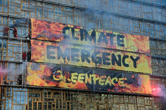 actie van Greenpaece