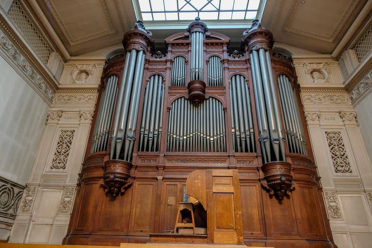 Het monumentaal orgel in de concertzaal
