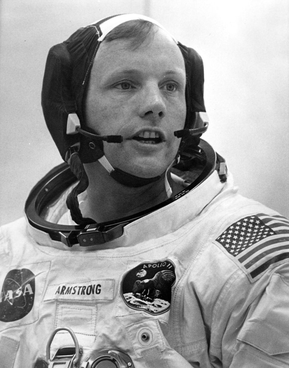 neil armstrong 82 eerste man op de maan overleden trouw. Black Bedroom Furniture Sets. Home Design Ideas