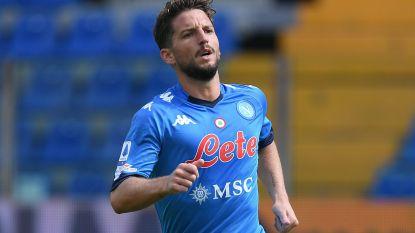 Dries Mertens scoort goal en geeft 2 assists in ruime zege van Napoli tegen Genoa