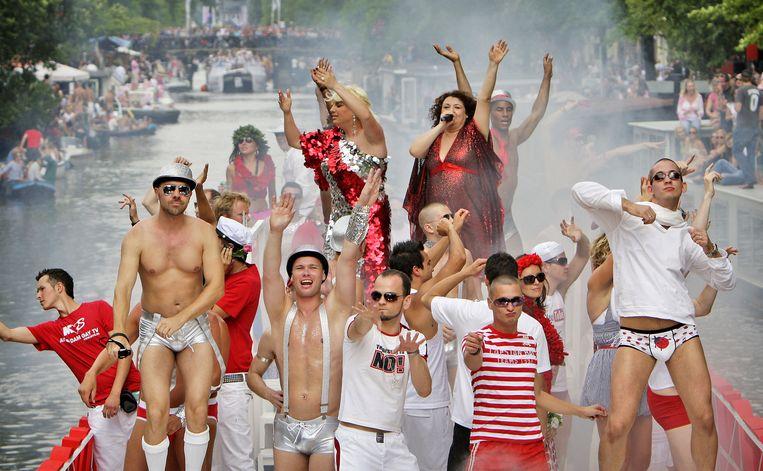 Ahmed Marcouch van Slotervaart wil dat de jaarlijkse Gay Pride dit jaar begint in zijn stadsdeel. Foto ANP/Koen van Weel Beeld