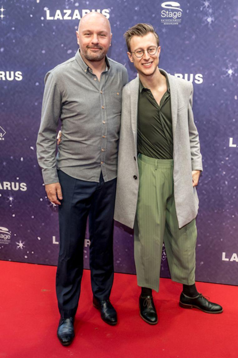 Boris van der Ham en zijn vriend Leon Doedens. Beeld Hollandse Hoogte