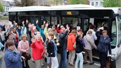 Élke dag bus naar Mol