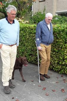 Eenzame Daan Sweers (79) uit Ulvenhout heeft een wandelmaat