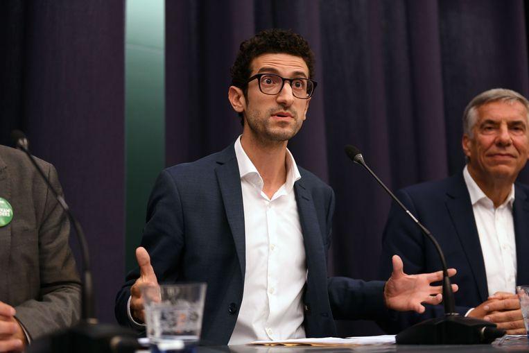 Mohamed Ridouani (sp.a) wil in de voetsporen van leermeester Louis Tobback treden.