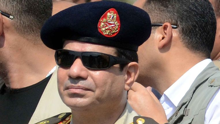 Fattah al-Sisi Beeld afp