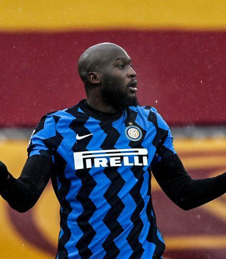 L'Inter et Romelu Lukaku perdent des plumes à Rome