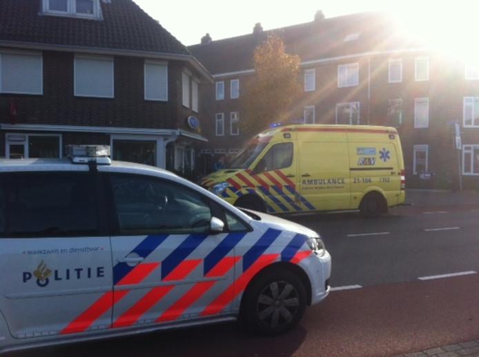 Scooterrijder gewond bij ongeval in Putten.