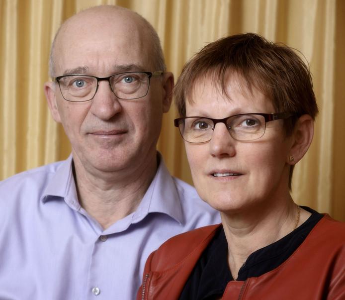Hans van Duijnhoven en zijn vrouw Laura.