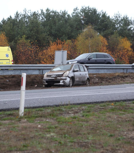 Ongeval met gewonde op A50 bij Arnhem zorgt voor vertraging