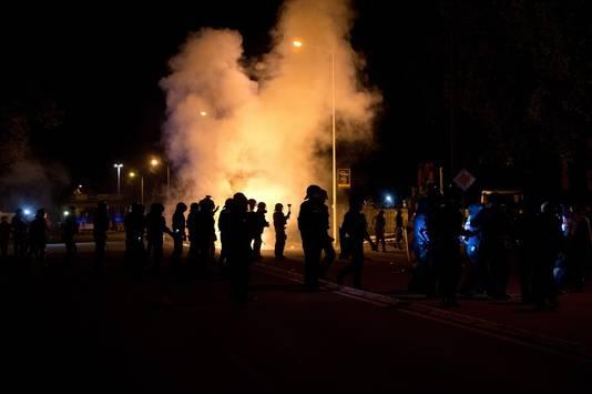 Protest in Duitsland.