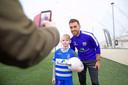 PEC Zwolle-aanvoerder Bram van Polen zet zich veelvuldig in voor projecten van Regio Zwolle United, de maatschappelijke tak van de voetbalclub. Zo traint hij geregeld mee bij PEC kicks ASS, voetballen voor kinderen met autisme.