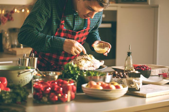 In alle rust de kerstmaaltijd voorbereiden, dan moet je van tevoren alles goed opgeruimd en schoon hebben.