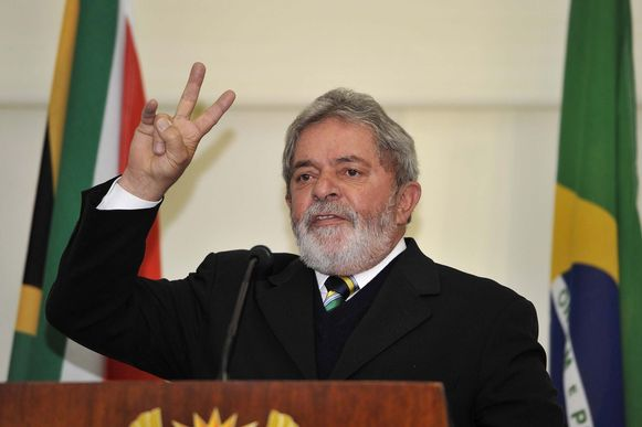 Luiz Inácio Lula da Silva in 2010.