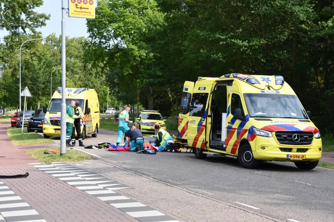 De 42-jarige Inge Caljouw overleed nadat ze op de Burgemeester van  Woelderenlaan in Vlissingen werd aangereden.