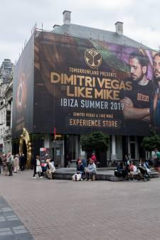 IN BEELD. Tomorrowland op de Meir: Dit is de pop-upstore van Dimitri Vegas & Like Mike