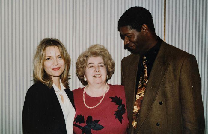 Met Michelle Pfeiffer en Dennis Haysbert.