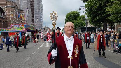Laatste Heilig Bloedprocessie voor ceremoniemeester Jef Janssens