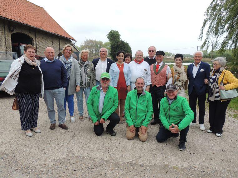 De Orde van de Paardenvisser promoot de Oostduinkerkse garnaal 'over de schreve'