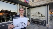 Kunstenaar eist 1.500 euro voor pentekening in brasserie