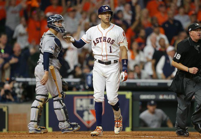 Carlos Correa van de Houston Astros.