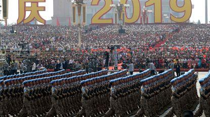 Volksrepubliek China viert zeventigste verjaardag met indrukwekkende parade