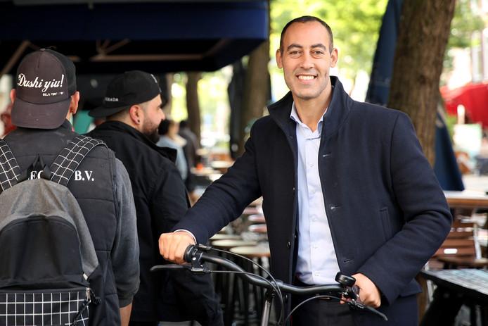 De Rotterdamse lijsttrekker Said Kasmi van D66 volgde leider Pechtold.