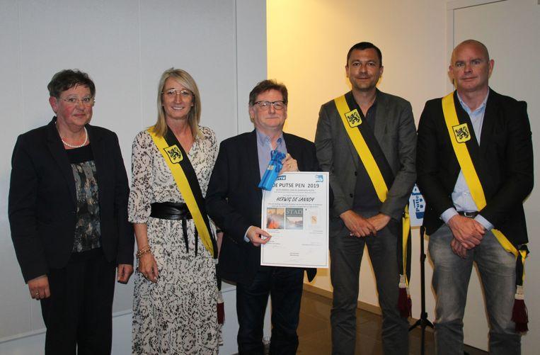 Winnaar Herwig De Lannoy (midden)