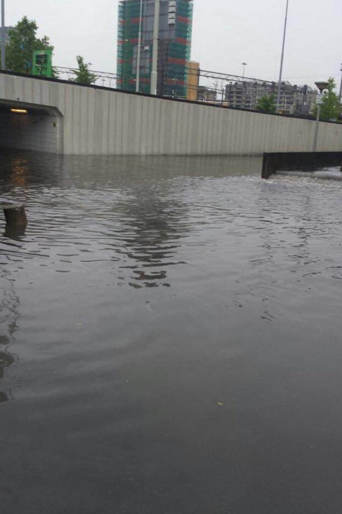 Wateroverlast in Eindhoven