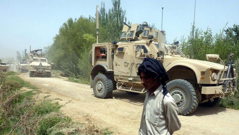 De Taliban kidnapten woensdagavond tien leden van het team van Fawzya Galani bij de westelijke stad Herat. Foto EPA Beeld