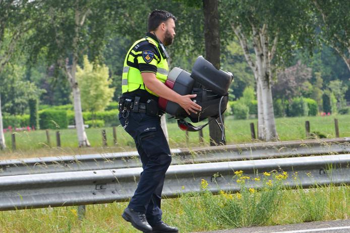 Motorrijder en passagier gewond bij ongeluk op A58 bij Rucphen