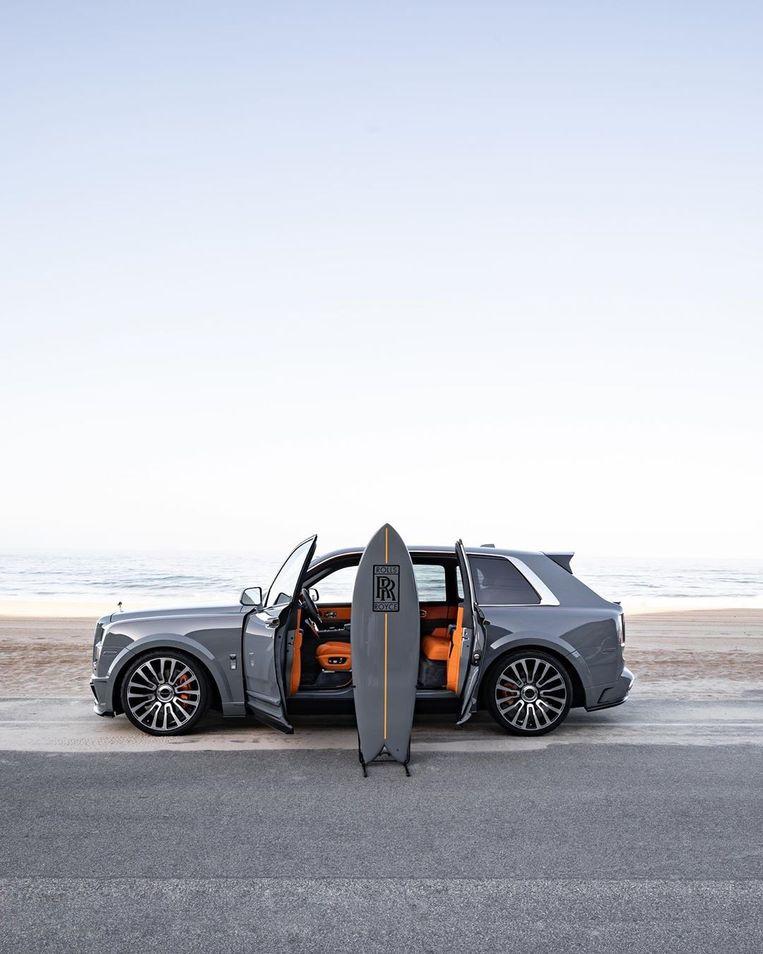 Rolls-Royce Cullinan Surf Edition