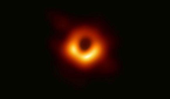 De eerste foto van een zwart gat.