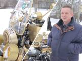 Deze Wit-Russische motorfanaat maakte 'gouden' exemplaar