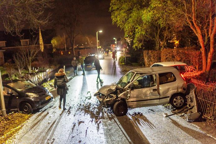 Volgens getuigen reed een van de bestuurders 'idioot hard'.