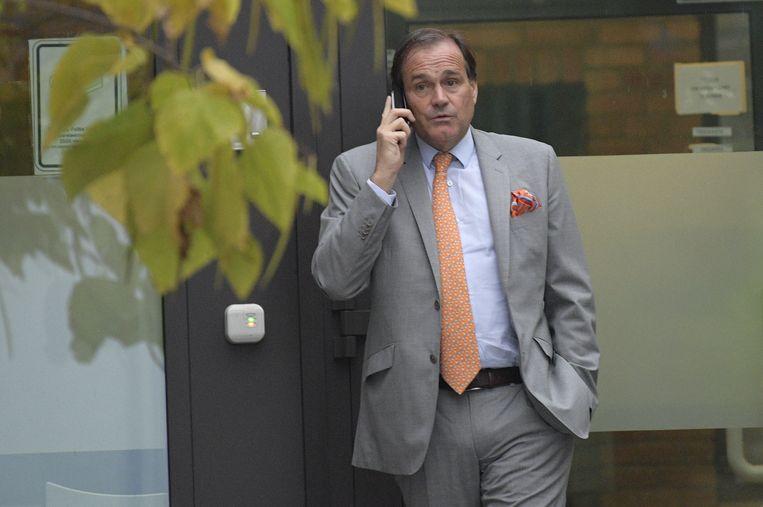 Advocaat Jean-Philippe Mayence verdedigt de belangen van Bayat.