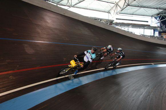 Archiefbeeld van het Vlaams Wielercentrum Eddy Merckx.
