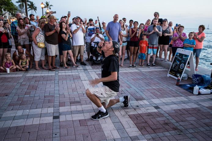 Amerikanen op vakantie in eigen land: Key West.