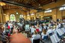 Juli 2017 ging Het Oisterwijks Orkest een samenspel aan met de stoommachine van KVL.