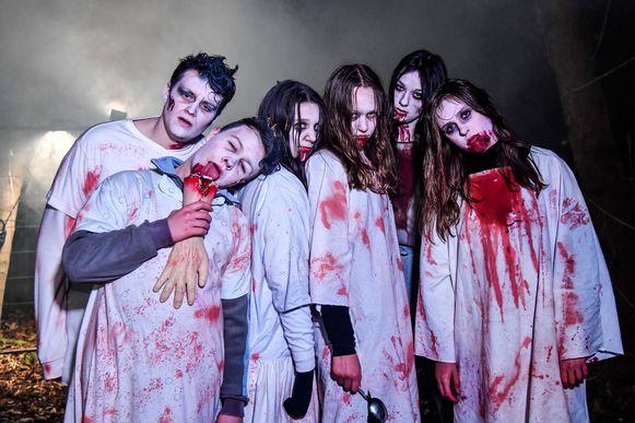 Halloweentocht in 2018