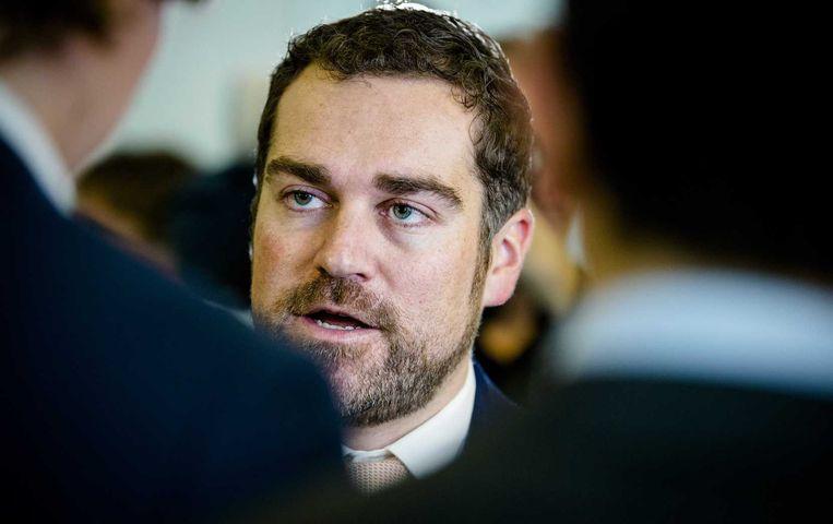 Staatssecretaris Klaas Dijkhoff van asielzaken. Beeld anp
