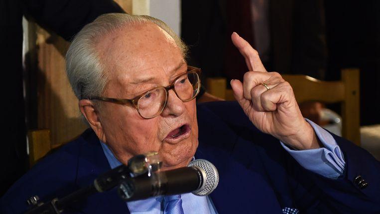 Jean-Marie Le Pen. Beeld afp