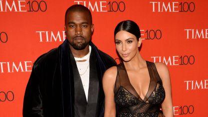 Kanye West en Kim Kardashian doneren half miljoen dollar na bosbranden