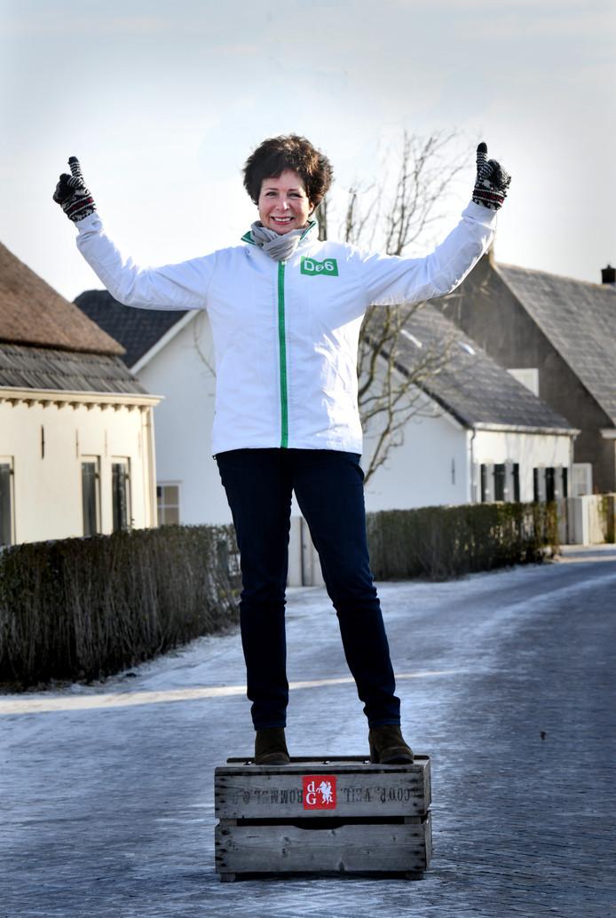 Evelien Schlösser in Rijswijk.