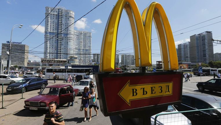 Een vestiging van McDonald's buiten Moskou. Beeld reuters