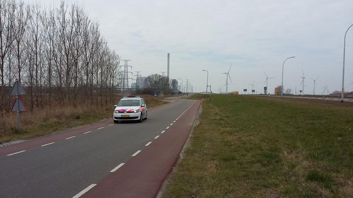 Toezicht politie bij kerncentrale Borssele