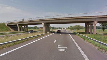 Dringende herstellingwerken op E403 tussen Torhout en Lichtervelde