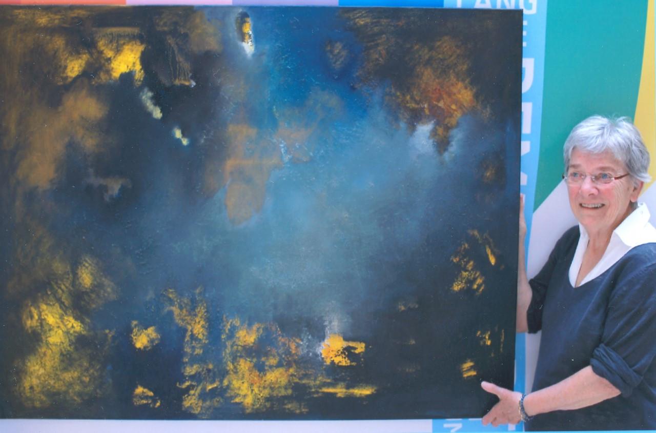 Susan Dona uit Oisterwijk voor verhaal Stan Schrijen over Lang leve Rembrandt