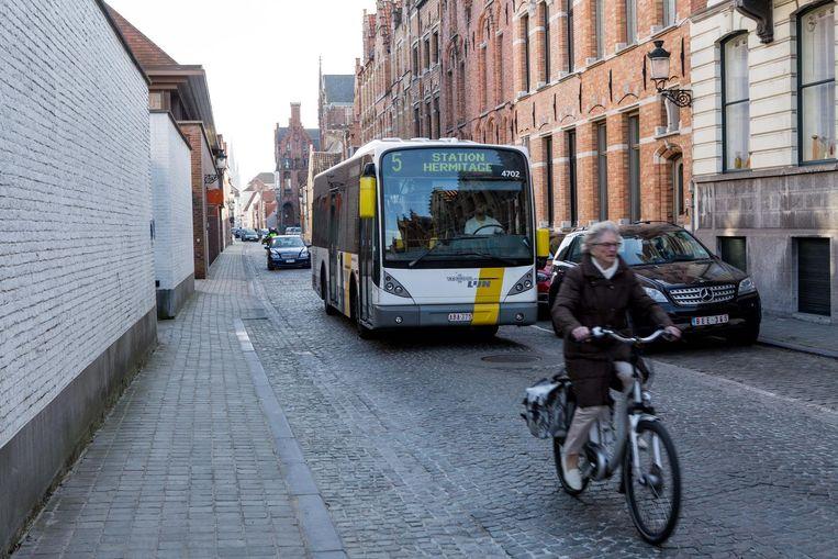 De Sint-Jorisstraat en de Vlamingdam krijgen veel bussen te verwerken.